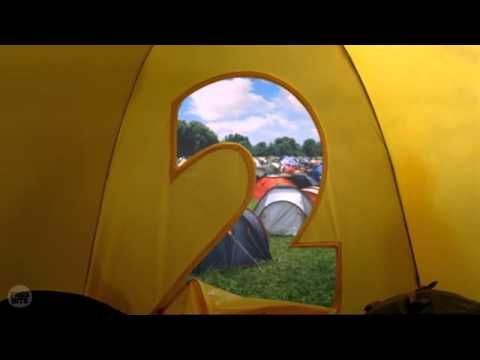 BBC Two Ident 2007 to 2009 - Tent, Festival.