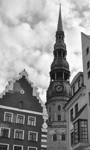 I have taken this foto in Riga (Jaana Häggman, 2012).