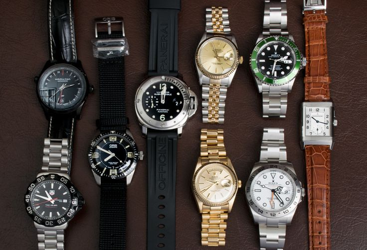 Today we've posted 4 sub-$1000 watches, 4 Rolex pieces, a Panerai Submersible, & a Jaeger Reverso Duo.