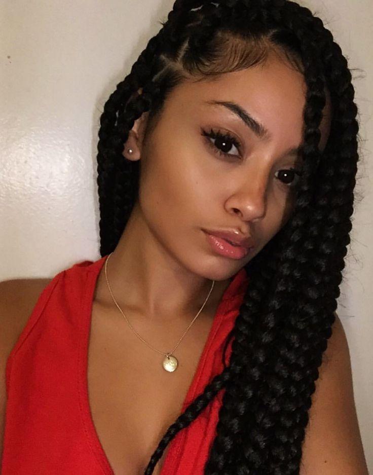 1244 Best Box Braids Images On Pinterest Braids Hair
