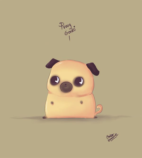 Cute Baby Cartoon Wallpaper Puuug Gordo