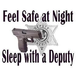 I sleep with my deputy (every 4 weeks LMAO)
