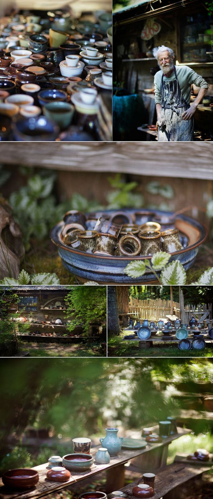 vancouver island pottery a Hornby Island Pottery Studio {notes}