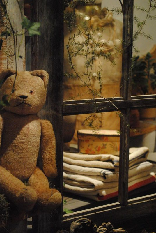 My Teddy was there when I had no friends to play with, no one to talk to, no one to share my little woes or my big joys. He looked constant and was constant. He never aged, no matter how tattered he became. His smell was the smell of my years as a boy, and he alone knew everything. Now, when I see him on the shelf, he is like my flesh and my soul--older, worn, but still full of happiness.-❥♥ԼƠƔЄ