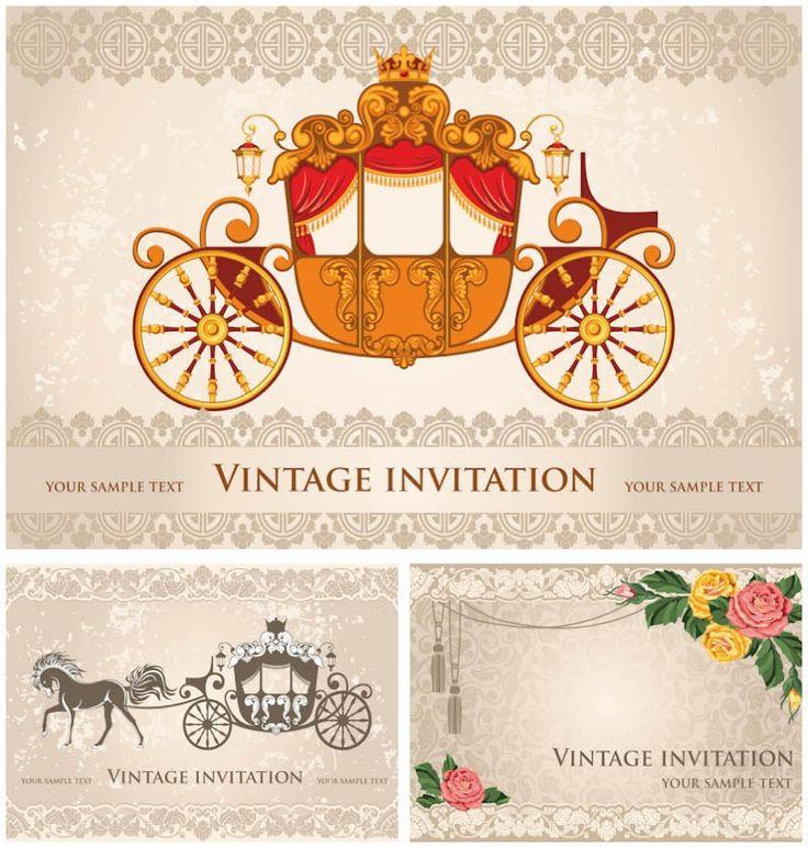 115 best wedding invitation templates images on pinterest, Wedding invitations