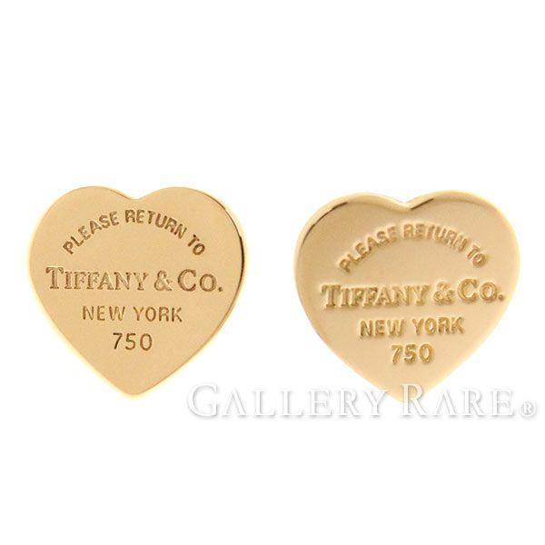 ティファニー ピアス リターン トゥ ティファニー ハート タグ ピアス K18PGピンクゴールド Tiffany&Co. ジュエリー ローズゴールド