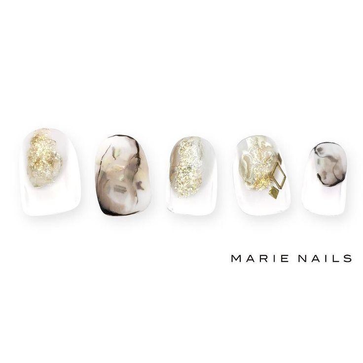 #マリーネイルズ #marienails #ネイルデザイン #かわいい #ネイル #kawaii #kyoto #ジェルネイル#trend #nail #toocute #pretty #nails #ファッション #naildesign #awsome #beautiful #nailart #tokyo #fashion #ootd #nailist #ネイリスト #ショートネイル #gelnails #instanails #marienails_hawaii #cool #french #gold
