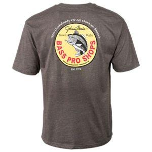 Bass Pro Shops Brown Derby T-Shirt for Men - Charcoal - 3XL
