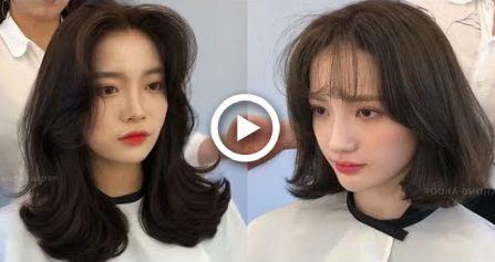 Easy Cute Korean Hairstyles 2019  Amazing Hair Transformation Compilation  Hair …