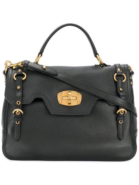 MIU MIU buckle detail foldover satchel bag.  miumiu  bags  shoulder bags   hand bags  leather  satchel   ea935d74b8bb0