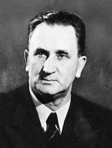 JG Strijdom -  Afrikaner nationalist, and a proponent of segregation that led the way to the establishment of the system of Apartheid. Prime Minister of South Africa 1954 to 1958