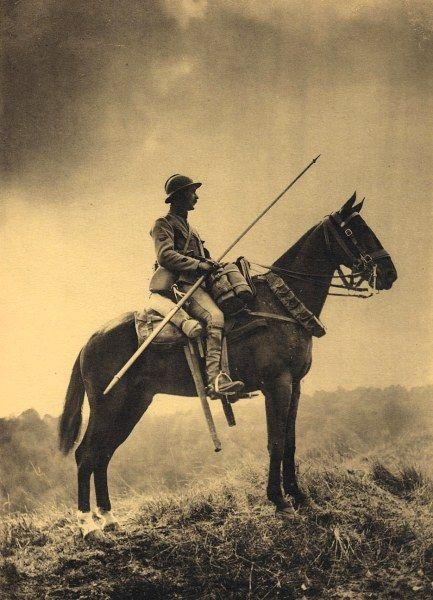 L'armée française dans la grande guerre entre 1916 et 1918. Dragon de 1918
