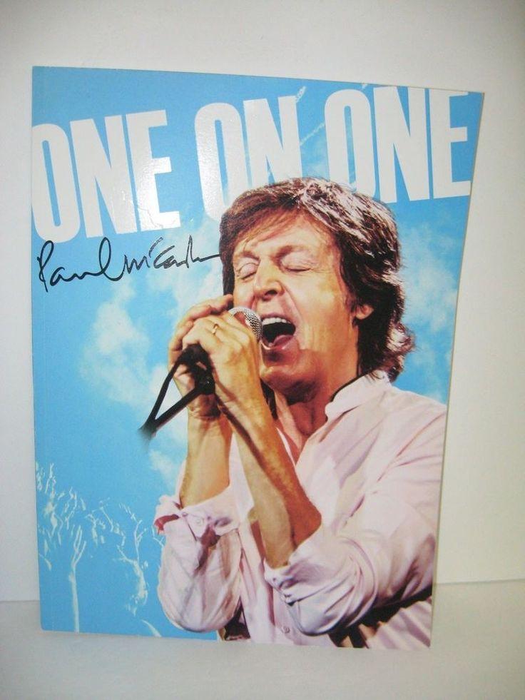 Paul McCartney 2016 / 2017 One On One Tour Program w stickers Wings Beatles