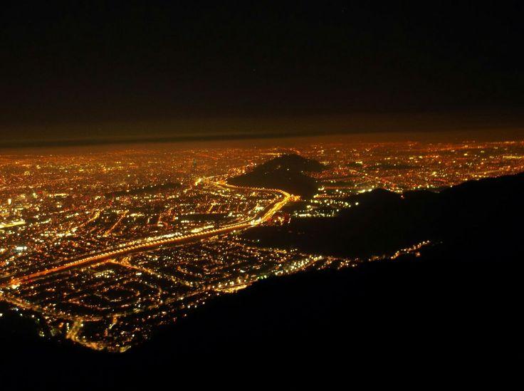 Santiago, Chile, Cumbre cerro Manquehuito