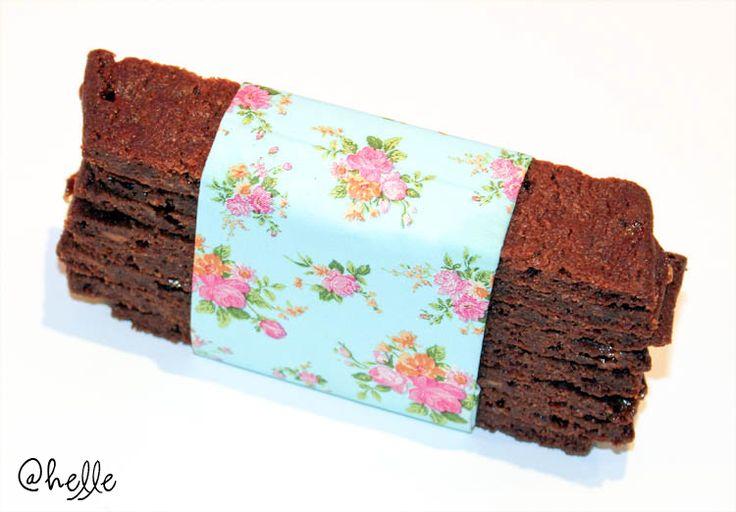made by Helle: Chokladsnittar med daim
