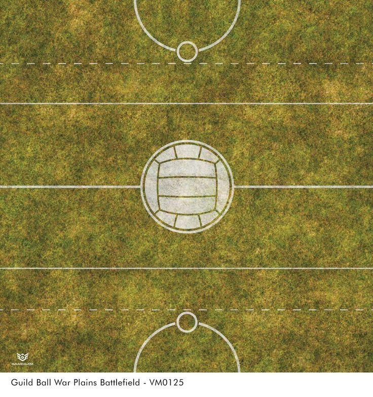Guild Ball War Plains Battlefield Game Mat
