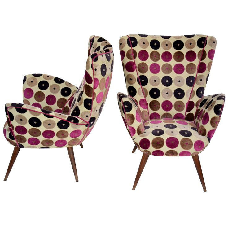 Armchairs fantasy 50s