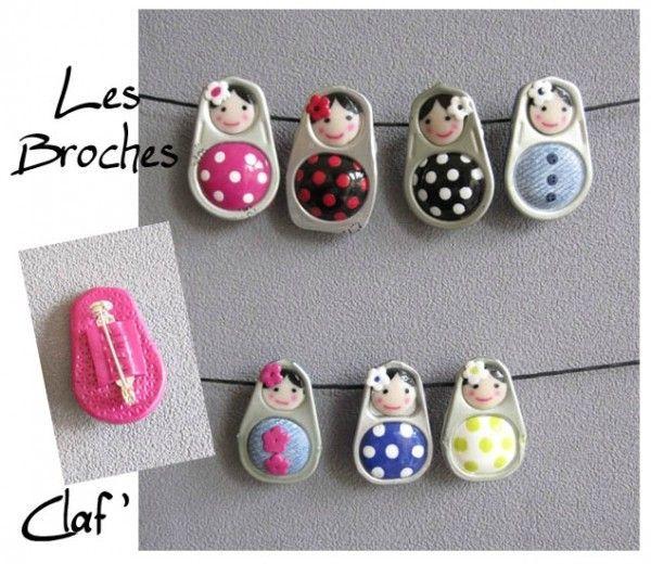 Idee per riciclo linguette delle lattine.