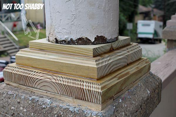 1000 Images About Porch Columns On Pinterest Front Porch Columns Barbers