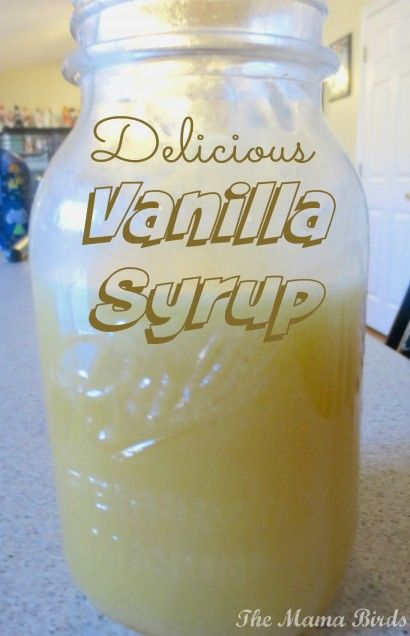 Vanilla Syrup for Belgiam Waffles