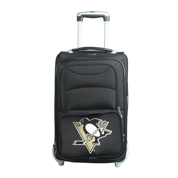 "Pittsburgh Penguins Carry-On In-Line Skate Wheel 21"" Luggage Bag - Black - $124.99"