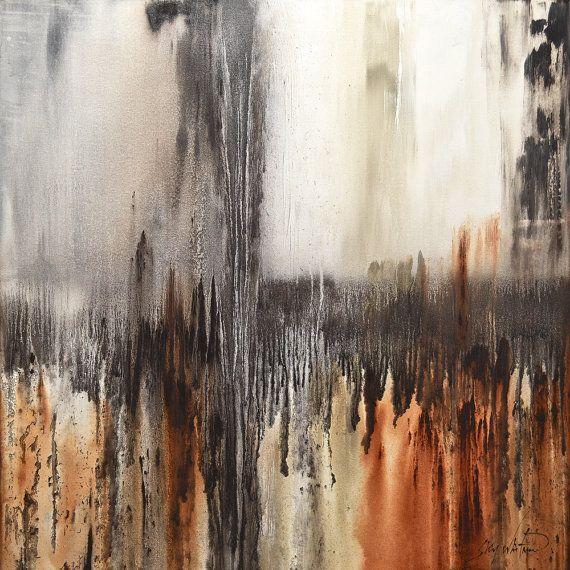 Original Abstract Painting Large Modern Art by originalmodernart