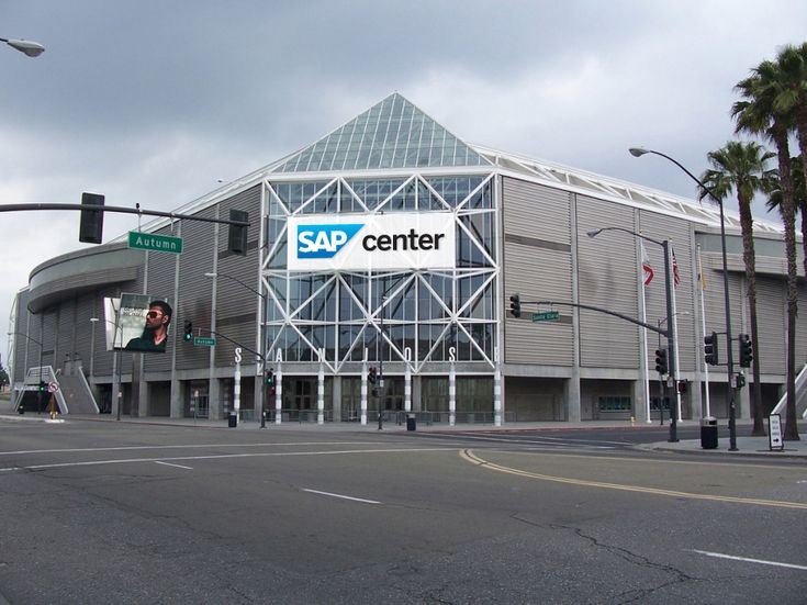 Over the past 10 years, SAP Center at San Jose has consistently been in the Top 5 in North America and top 10 in the world. Description from news-sap.com. I searched for this on bing.com/images
