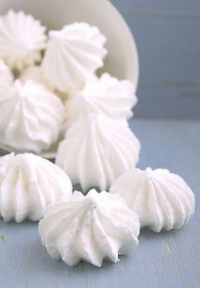 Meringues à la vanille