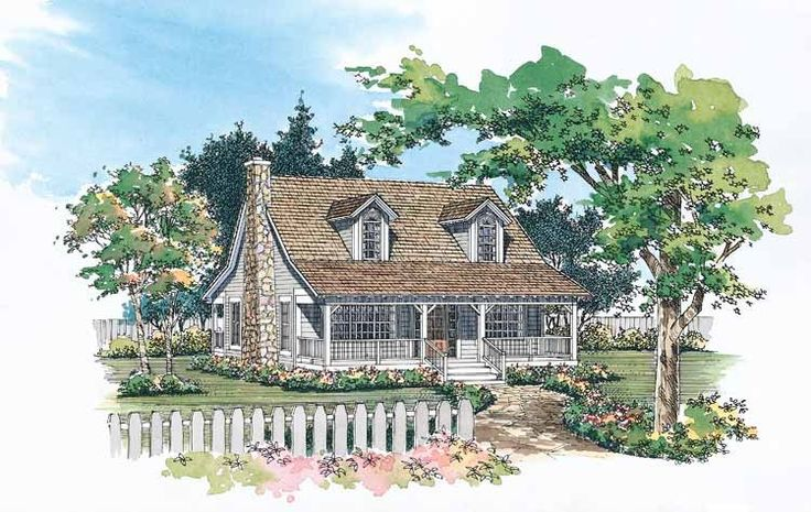 Eplans Country House Plan - Living Areas Designed for Relaxing - 1673 Square Feet and 3 Bedrooms from Eplans - House Plan Code HWEPL00925