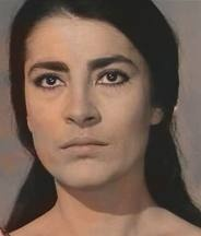 "Irene Papas - Greek actress and singer  "" I never wanted to play sensational parts , or those of desirable women .I wanted to play me ... the independent fighter ""    The Guns of Navarone, Zorba the Greek,  Z , Electra, Antigone, The Odyssey, Captain Corelli's Mandoline"