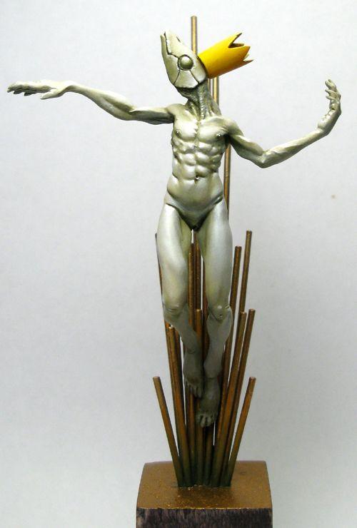 Christ Fish. Sculpture 2008. Fimo. 7cm. #christ #fish #sculpture #allandiegocarrasco #miniature