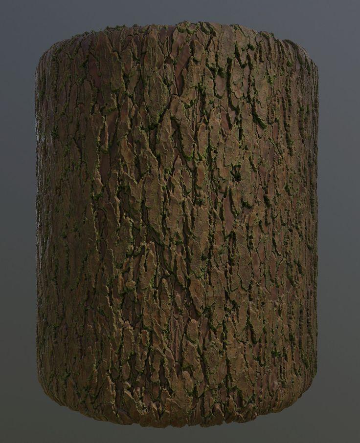 Tree Bark, Jory Aquino on ArtStation at https://www.artstation.com/artwork/wmOYX
