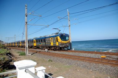Southern Line rail route - Cape Town to Simon's Town