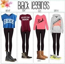 Black leggings are the ultimate staple item for super comfy and cute casual days. Get your own pair of thick black leggings for only $13.99 to create your own casual outfits.