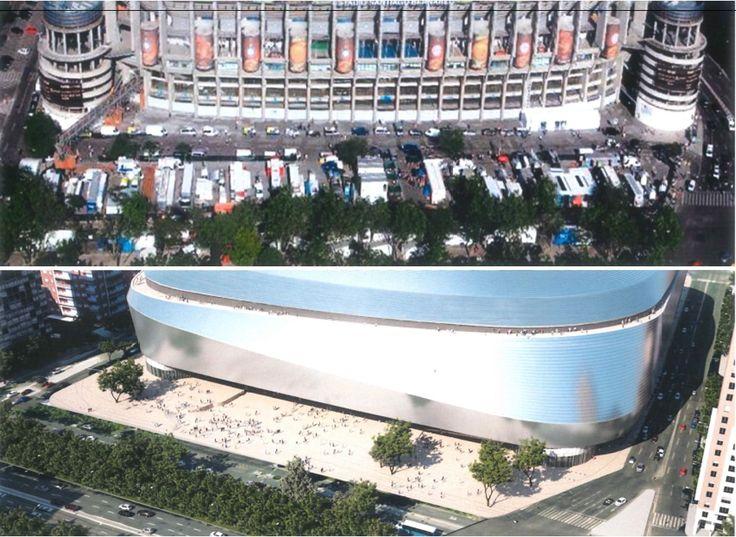 Nuevo Estadio Bernabéu EL REAL MADRID PAGARÁ LA MEJORA URBANA DEL ENTORNO DEL BERNABÉU | Nuevo Estadio Bernabéu