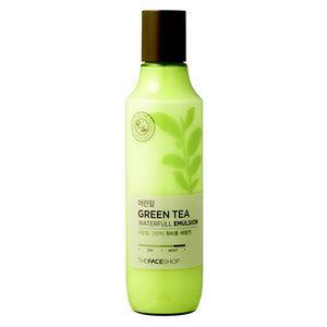 THE FACE SHOP - en lätt ansiktslotion med organiskt odlat grönt te! koreansk hudvård från bonnybonny.se