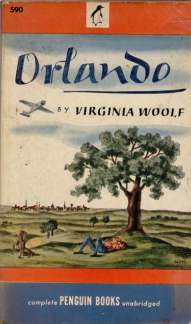By George Salter, 1 9 4 6, Orlando by Virginia Woolf, Penguin 590.