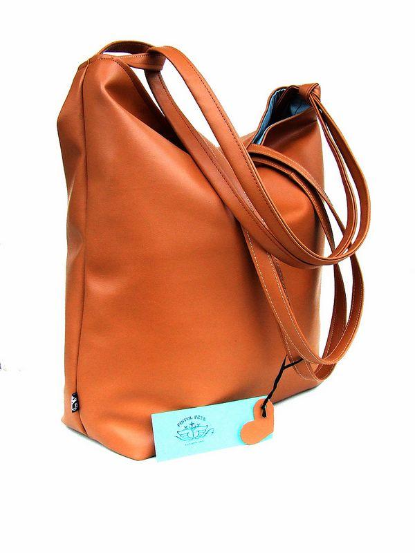 chau brown MAXI tote bag for women