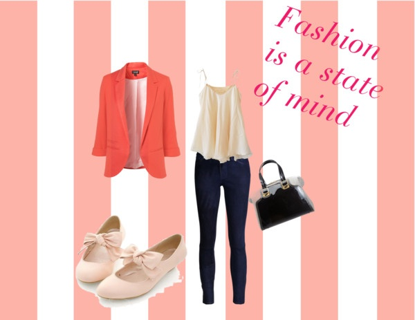 """Fashion is a state of mind"" by tomodel on Polyvore"