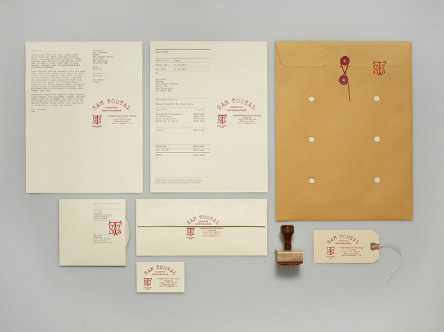 Sam Tootal Identity by Manual Creative