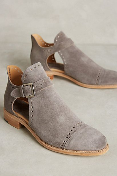 The Office of Angela Scott Mr. Ed Cutout Oxfords #anthropologie