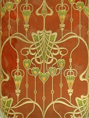 BECHS: Esenwein & Johnson Virtual Exhibit  --This is freekin WALLPAPER. people poured themselves into making this beautiful art so some slob could slap it on their walls, only to unceremoniously rip it down decades later because their 'tastes have changed'.