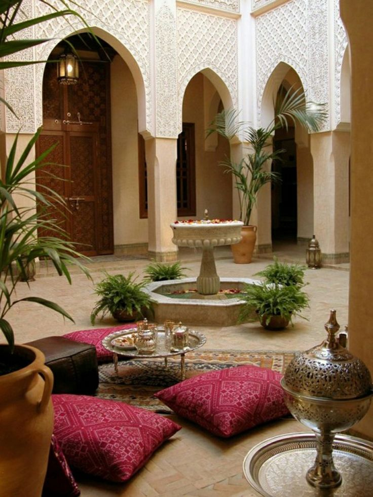 Charming Morocco Style Home Designs Ideas