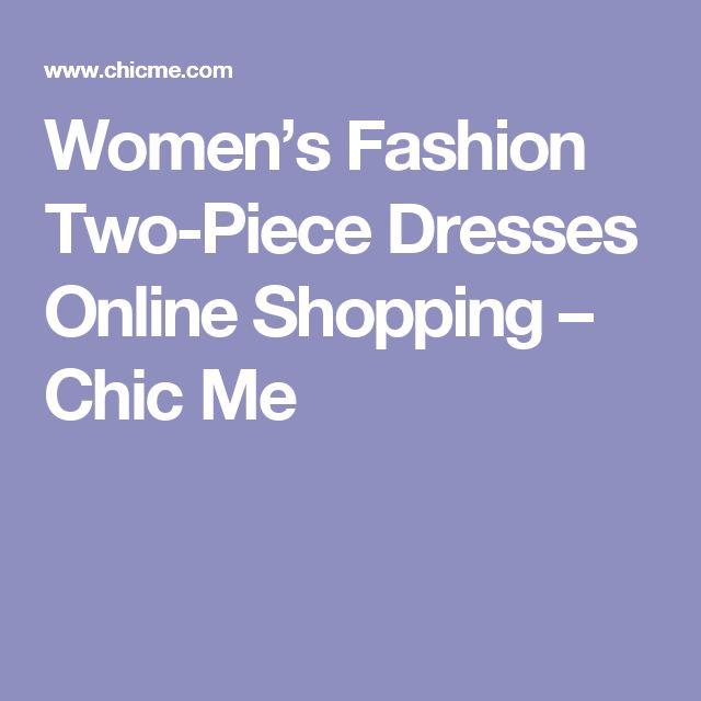 Women's Fashion Two-Piece Dresses Online Shopping – Chic Me