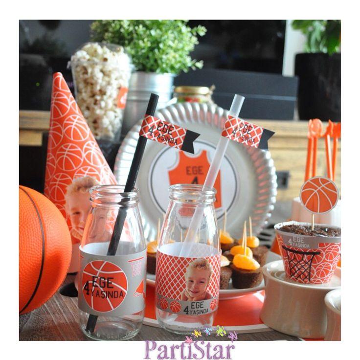 Çocuğunuza basketbol temalı şık bir doğum günü partisi hazırlamak ister misiniz? Basketbol temalı tüm parti malzemeleri ve süsleri için www.partistar.com!