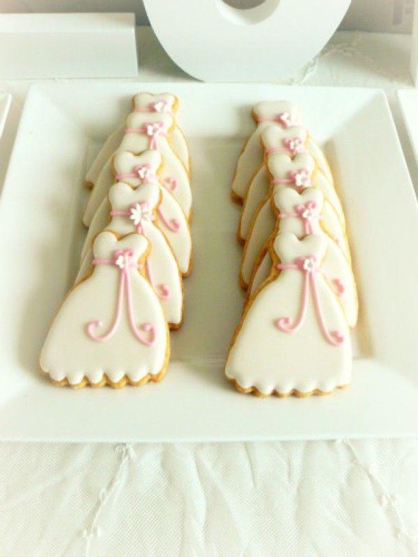 Trouwjurk koekjes :)