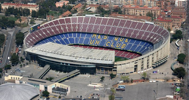 Camp Nou Temple of Cataluna - Home of Barcelona