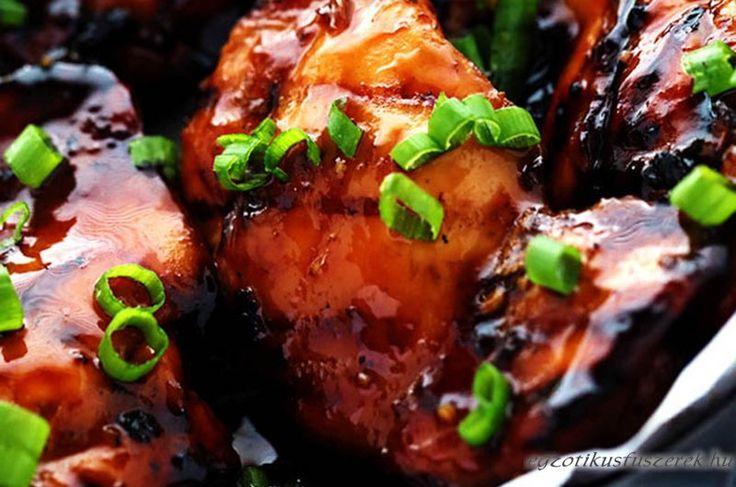 Grillezett Huli-huli Csirke Hawaii-ról
