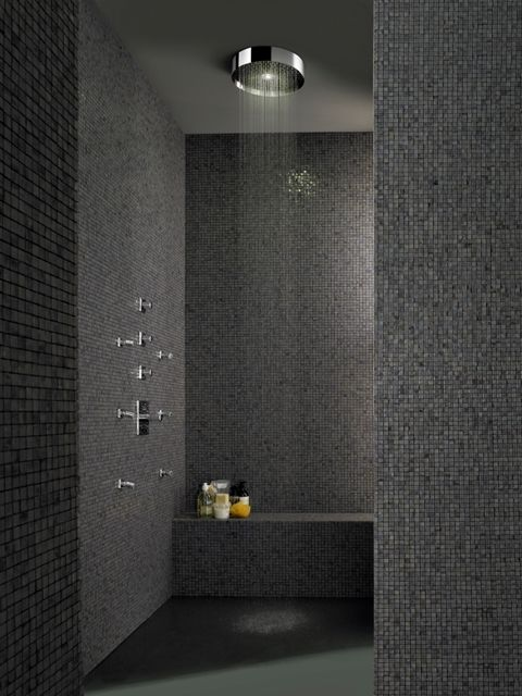 SOFFIONE XL showerhead designed for Zucchetti | Palomba bathroom design