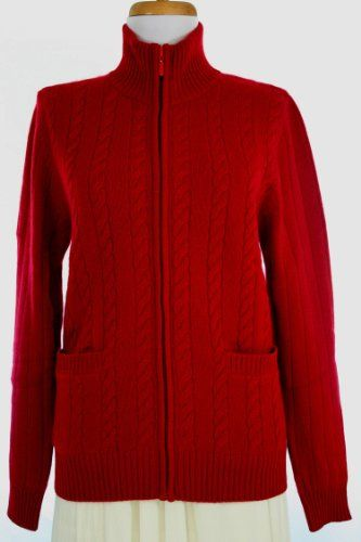 $229.00 - $244.00 awesome Shephe Womens 4 Ply Cashmere Cable Knit Jacket Without Hoodie